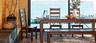 wholesale world market rustic dining room