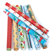 wrapping paper holidays