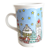 wholesale liquidation xmas mug